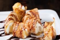 Десерт Сливочный ананас