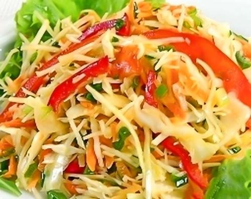 Японский витаминный салат